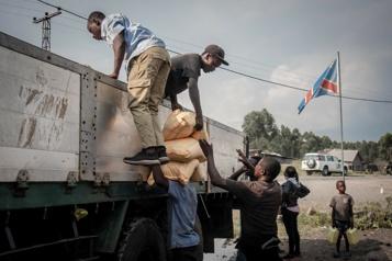 Éruption à Goma Un responsable arrêté pour avoir détourné de l'aide alimentaire)