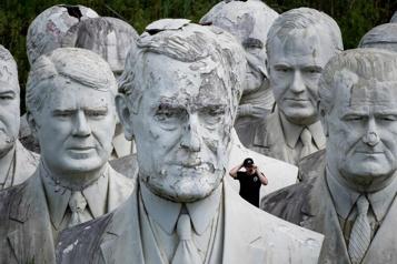 Virginie  Quarante-deux bustes de présidents américains laissés à l'abandon)