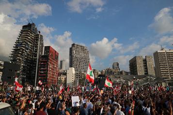 LaPresse au Liban: «Assez, c'estassez» )