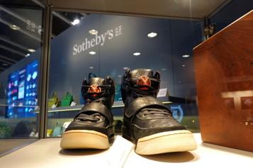 Record pulvérisé Des chaussures de Kanye West vendues 1,8million)
