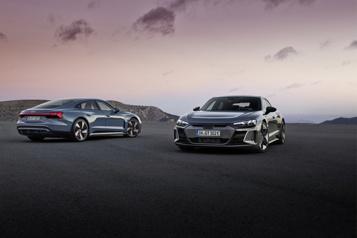 Audi e-tron GT La riposte attendue à la TeslaModelS)