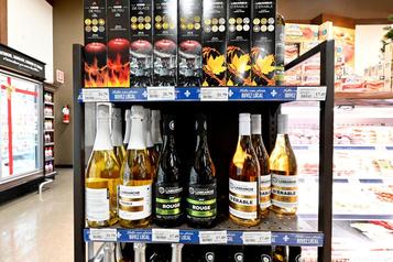 Moins de vins québécois danscertains IGA