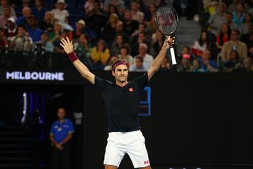 Internationaux d'Australie: Federer poussé à la limite