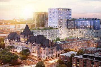 Vieux-Montréal Jesta veut faireredécouvrir unchâteau méconnu )