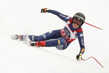 Descente de Crans-Montana Sofia Goggia récolte sa quatrième victoire consécutive)