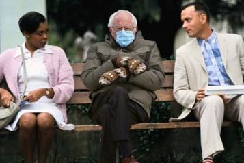 Investiture de Joe Biden La tenue chaude et écolo de Sanders fait fureur sur le web)