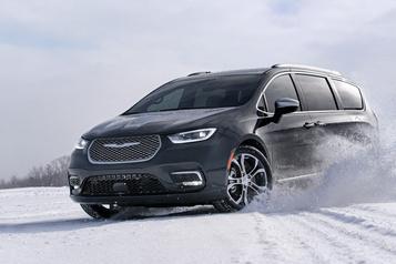 La Chrysler Pacifica s'offre le rouage intégral