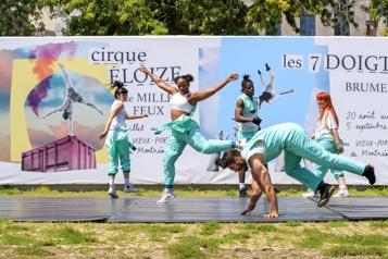 Le Cirque Éloize à l'assaut du Vieux-Port)