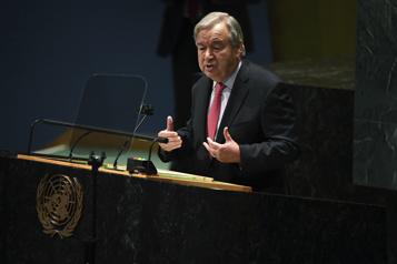 Appel au dialogue et à la compréhension Le chef de l'ONU met en garde les États-Unis et la Chine)