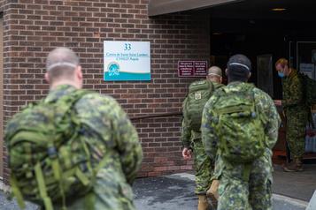 Les Forces armées préparent un rapport sur les CHSLD du Québec )