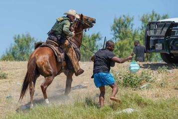 Haïtiens refoulés à la frontière Les images «ne reflètent pas» les États-Unis)