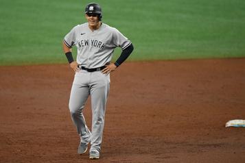 Urshela se distingue dans un gain des Yankees)