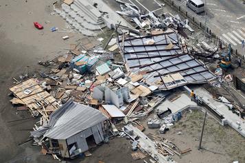 Un typhon frappe Tokyo: un mort et des dizaines de blessés