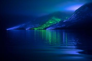 2000 lumières pour les montagnes d'Irlande