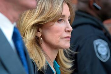 L'actrice Felicity Huffman sort de prison