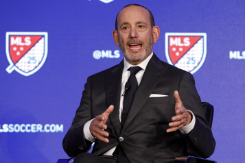 MLS Le commissaire Don Garber a de l'empathie pour les clubs canadiens)