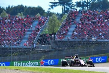Formule 1 Le Grand Prix d'Allemagne pourra accueillir 20000spectateurs)