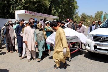 Afghanistan: une frappe contre les talibans aurait tué 40 civils