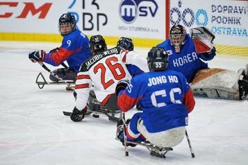 Parahockey Victoire à sens unique de l'équipe canadienne au Championnat du monde)
