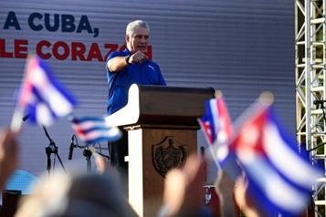 Cuba Le président dénonce le «mensonge» autour des manifestations)