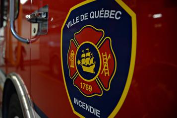 Feu dans un immeuble à logements à Québec
