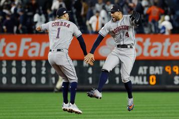 Les Astros prennent les commandes de la série