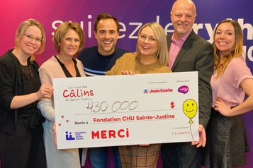 430 000$ pour Sainte-Justine