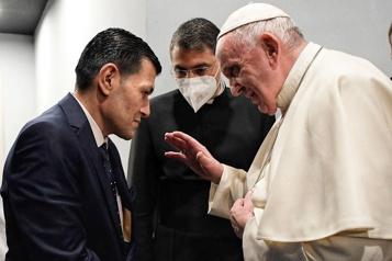 Irak Le pape rencontre le père du petit Alan, symbole de la crise des réfugiés)