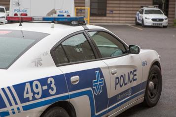 Un itinérant poignardé au centre-ville de Montréal)