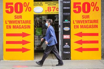 Zone rouge Des commerçants de Montréal et Québec «inquiets» )