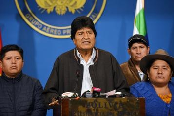 Bolivie: Morales dans un avion pour le Mexique