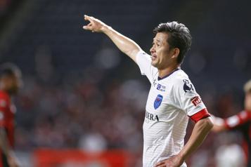 Record de longévité pour un joueur de soccer japonais)