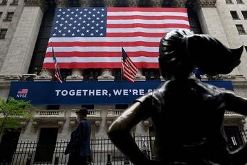 Les bourses nord-américaines atteignent leur plus haut niveau en trois mois)