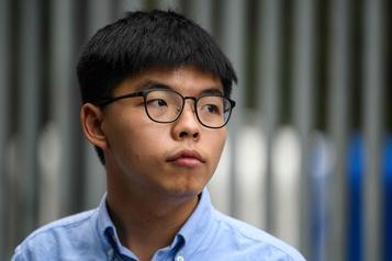 Le militant prodémocratie Joshua Wong appelle le monde à «être solidaire» des Hongkongais)
