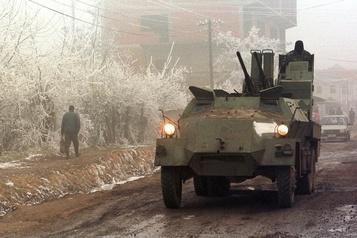 Kosovo Comparution d'un premier suspect accusé de crimes de guerre  )