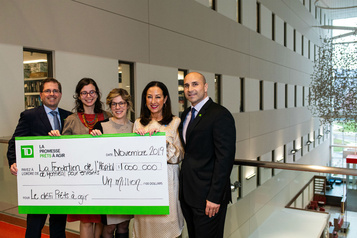 Un million pour les cancers pédiatriques