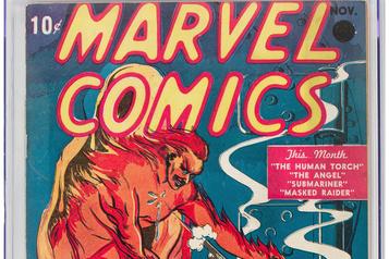 La toute première bande dessinée Marvel vendue à un prix record