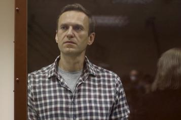 Russie Alexeï Navalny transféré dans un camp de travail)