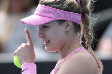 Eugenie Bouchard passe au 2e tour des qualifications aux Internationaux d'Australie