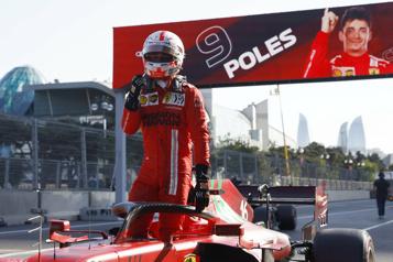 GrandPrix d'Azerbaïdjan Une deuxième position de tête de suite pour Charles Leclerc)