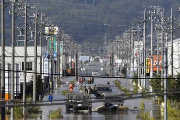 Le typhon Hagibisfait au moins 35 morts au Japon