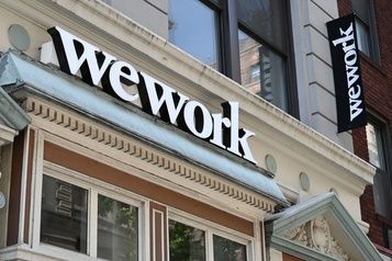 Les baux de location de WeWork dégringolent au 4e trimestre