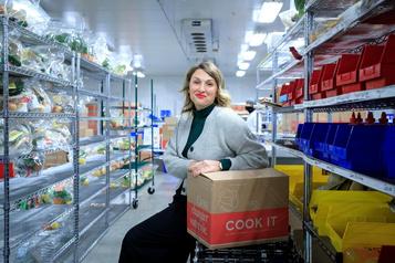 JudithFetzer, PDG de Cook It: «C'est utile d'avoir AlainBouchard comme mentor»