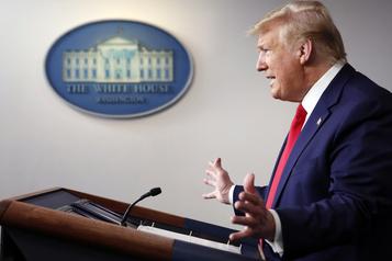 Trump évoque un échange «amical» avec Biden sur le coronavirus