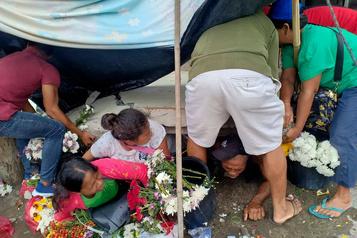 Séisme aux Philippines: un mort et des dizaines de blessés