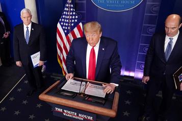 Points de presse à la Maison-Blanche: spectacle décousu