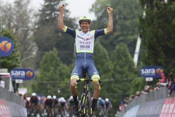 Tour d'Italie Taco vanderHoorn, dernier survivant et vainqueur)