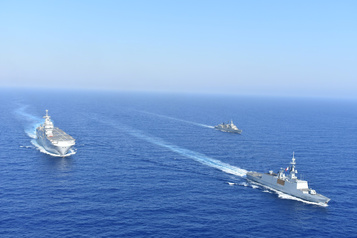 Nouvelles tensions entre la France et la Turquie en Méditerranée)