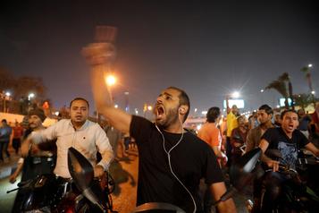 Au Caire, les forces de sécurité déployées après de rares manifestations anti-Sissi
