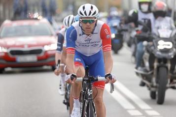 Tour de Catalogne Antoine Duchesne dans une échappée pendant plus de 160km)